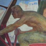 Excavator driver.1959