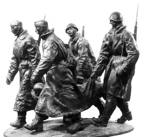 From the battle field. Bronze. 1994