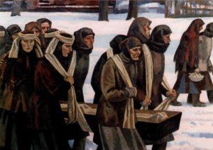 Soviet artist Viktor Ivanov