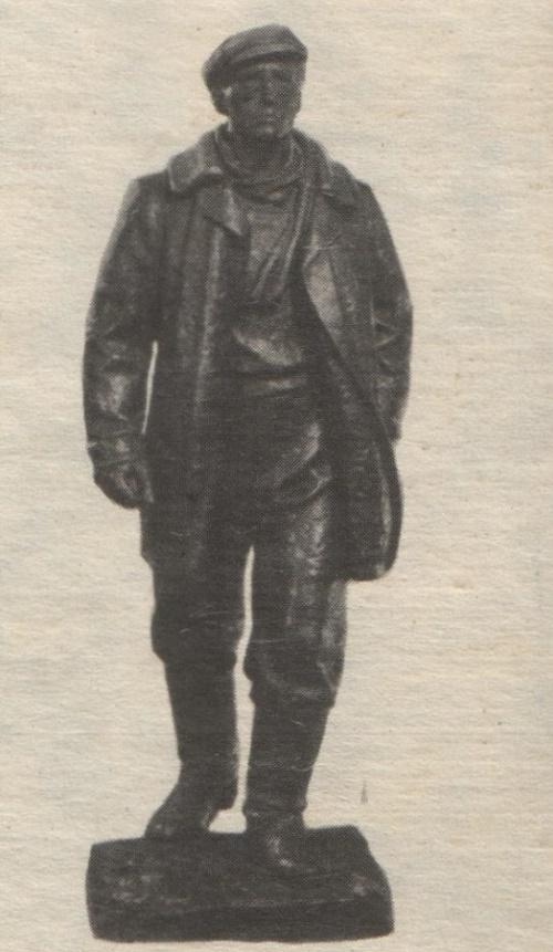 Soviet sculptor Gediminas Jokubonis