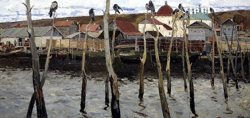Galich. Fishing settlement, 1962