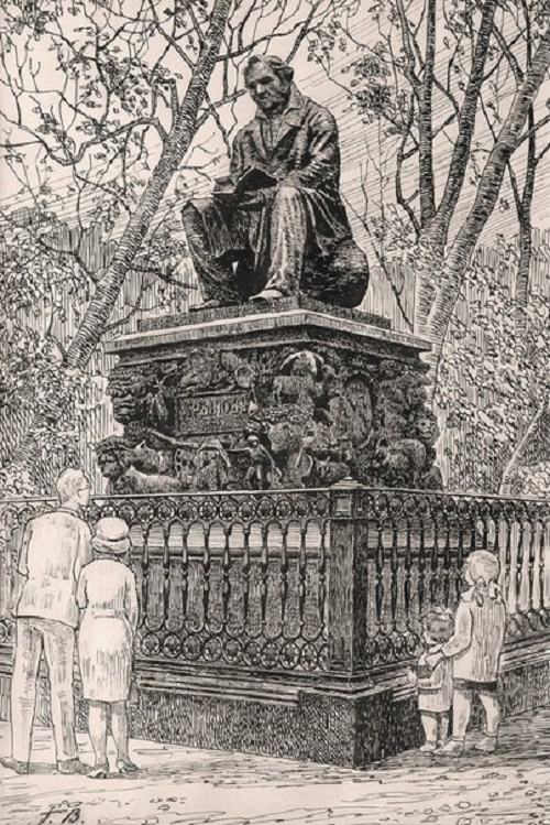 Georgy Vereisky. Monument to Krylov
