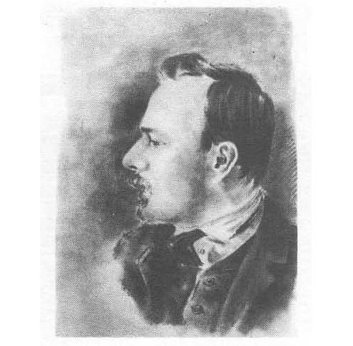 I.I. Morchadze. Pencil, 1908-1909