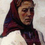 Soviet Ukrainian naive artist Yekaterina Belokur