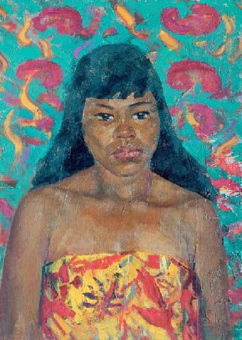 Khmer woman. 1971