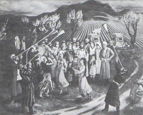 M. Abdurakhmanov, G. Yaralova. The first sowing. Oil. 1980