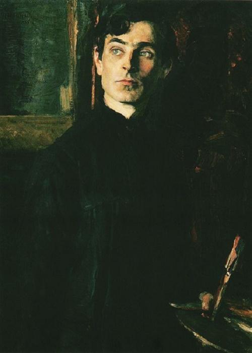 M.V. Nesterov. Portrait of P.D. Korin. 1925