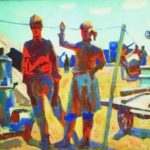 Soviet artist Mikhail Anikeyev