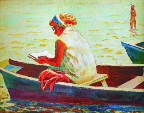 On the lake. 1962