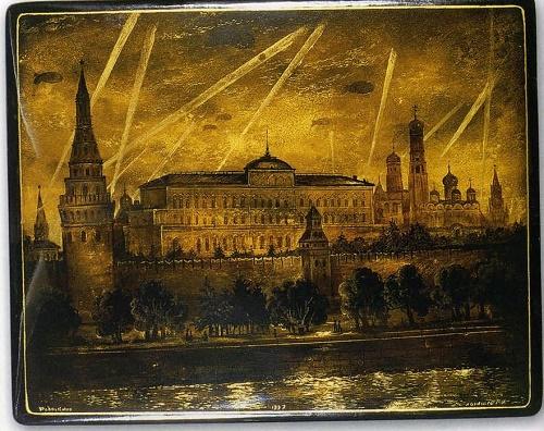 Moscow of 1941. Artist Gennady Larishev (1929-2008)
