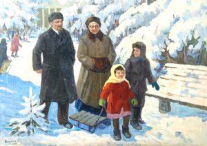 Nadezhda Krupskaya in Soviet Art