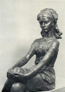 Soviet sculptor Omar Eldarov