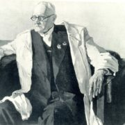 Portrait of Academician N. F. Gamaley. 1941