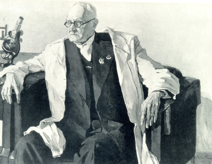 Portrait of Academician N. F. Gamaley. 1941