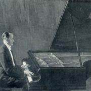 Portrait of K.N. Igumnov. 1941-1943