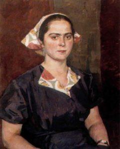 Serafima Kotova. 1959. Ryazan Regional Art Museum
