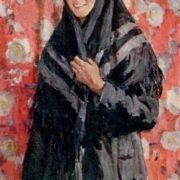 Portrait of T. Rodkina. From the series 'Ryazan milk farmers'. 1959