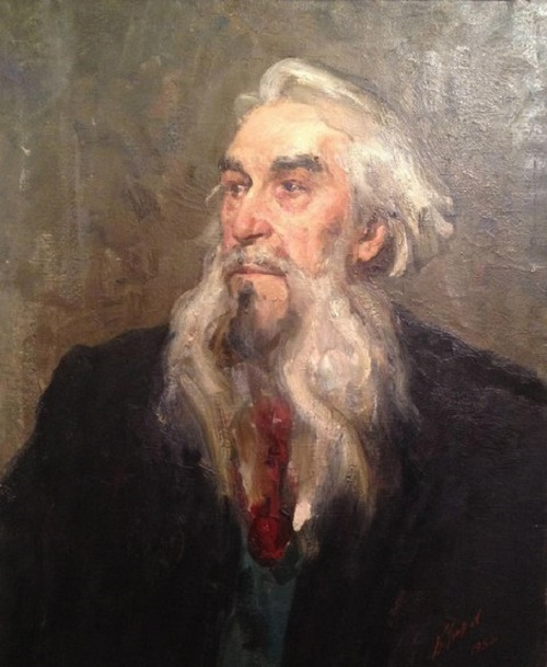 Soviet painter Boris Ugarov