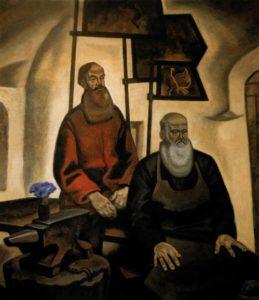 Soviet artist Pyotr Ossovsky