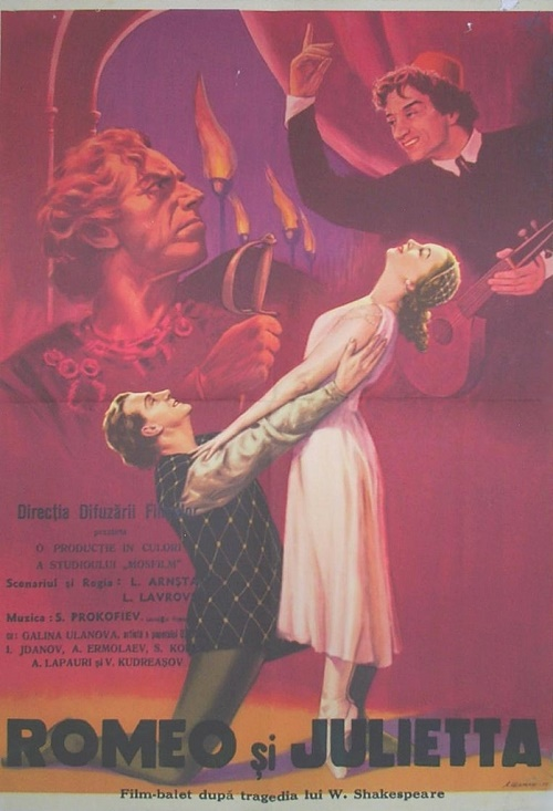 Romeo and Juliet, 1954 film. USSR