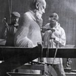 Soviet Sculptor Sergey Merkurov