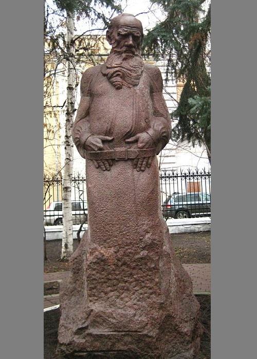 S. Merkurov. Monument to Leo Tolstoy, 1913