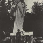 S. Merkurov. Statue of Alexander Pushkin. Gypsum. 1906-1937. Photo from the archives of GS Merkurov