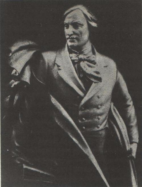 Statue of Nikolai Gogol. Fragment. Gypsum. 1939. Soviet Sculptor Sergey Merkurov (7 November 1881 – 8 June 1952)