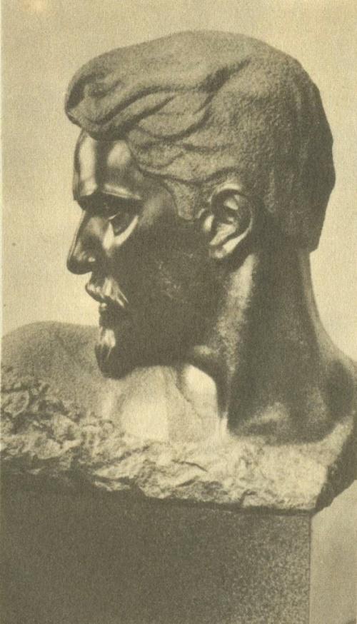 Stepan Shaumyan. 1929. Granite