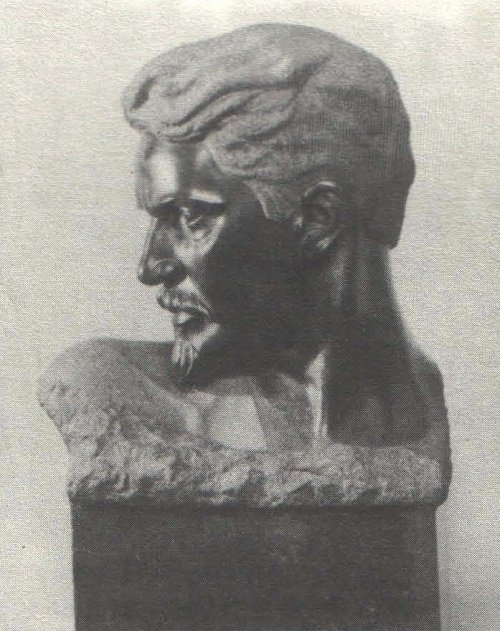 Revolutioner Stepan Shaumyan. Granite. 1929