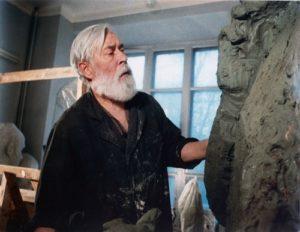 Soviet sculptor Aleksandr Kibalnikov (August 9, 1912 – September 5, 1987)