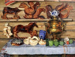 Still life with samovar