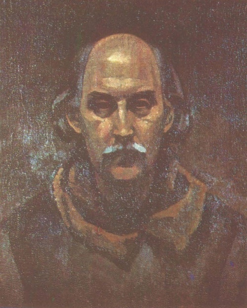 Self-portrait. Oil. 1982