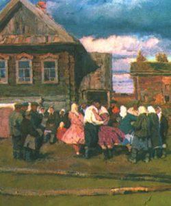 Soviet artist Vladimir Stozharov