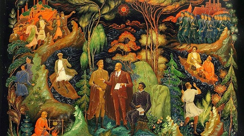Wind of Revolution in Soviet Palekh