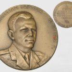 Yuri Gagarin in Soviet Palekh lacquer miniatures