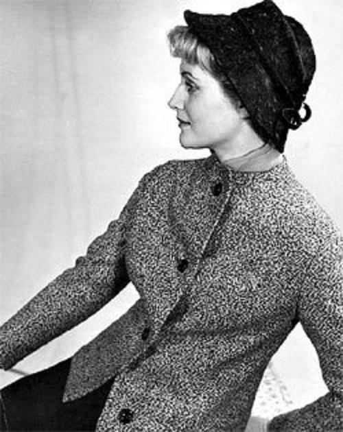 1950-1960s Soviet fashion model Valentina Yashina