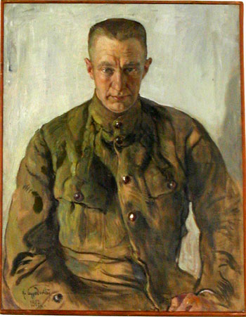 A.F. Kerensky. 1917. Oil on canvas
