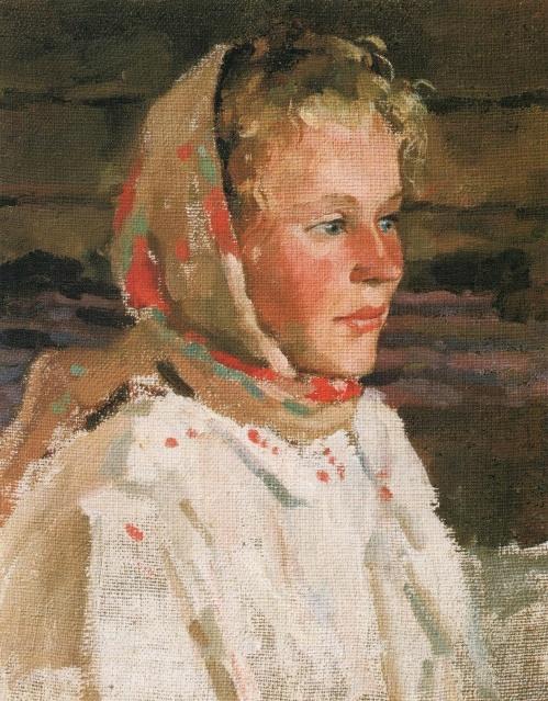 Antonida of Miltino. 1949. Private Collection, London