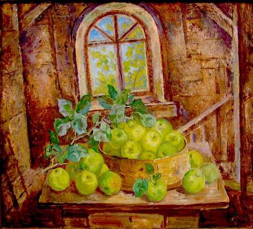Apples. Still life