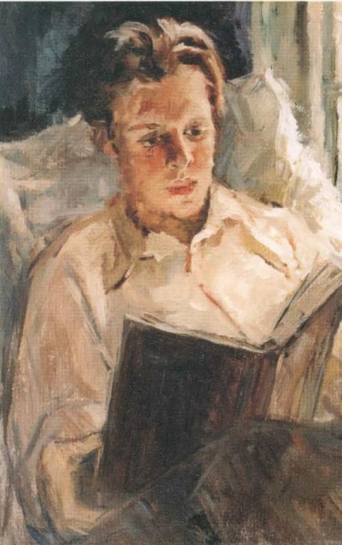 Boris Kuturin. 1950. Private collection, USA