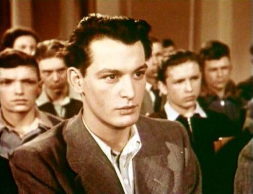 Certificate of Education, 1954. Vasily Lanovoi - Soviet Johnny Depp