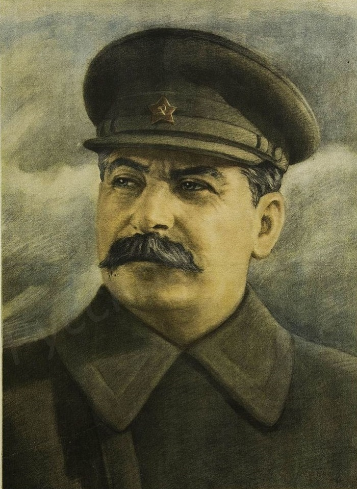Chairman of the State Defense Committee and People's Commissar of Defense of the USSR Comrade I.V.Stalin, 1942 (poster)