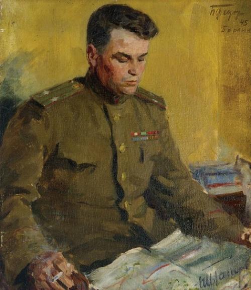 Chief of Staff Lt. Col. I. Toporov, 1945