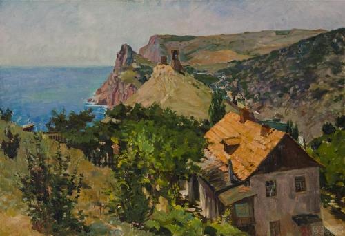 Soviet painter Victor Kovalenko