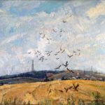 Soviet artist Anatoly Yudin