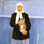 Soviet Russian artist Ekaterina Chernysheva