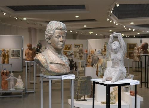 Exhibition of works of Lyudmila Yelchaninova