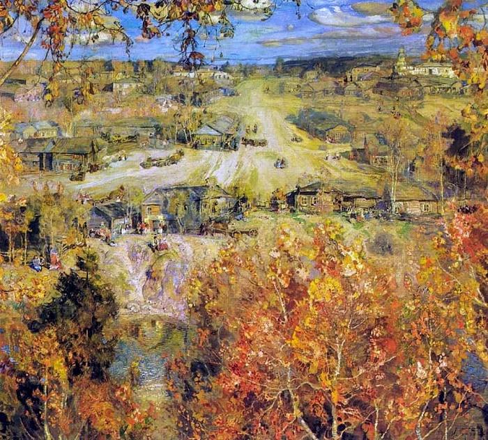 Golden autumn. 1913