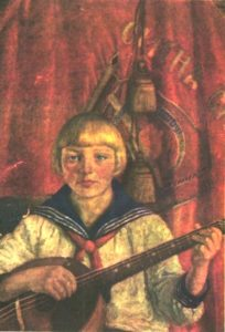 Soviet painter Ilya Mashkov
